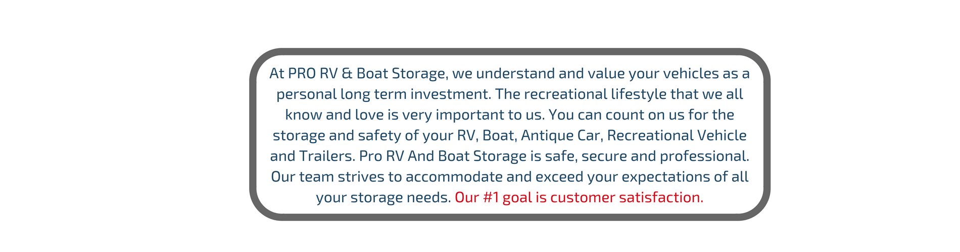 RV and boat storage in Texas Anna by offering brand new self storage units and secured parking spaces.